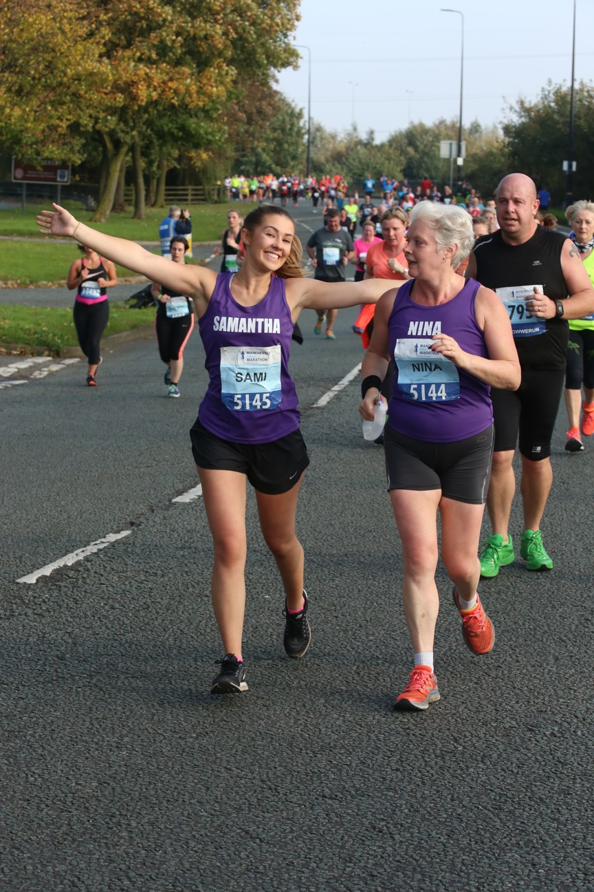 Runners in the Manchester Half