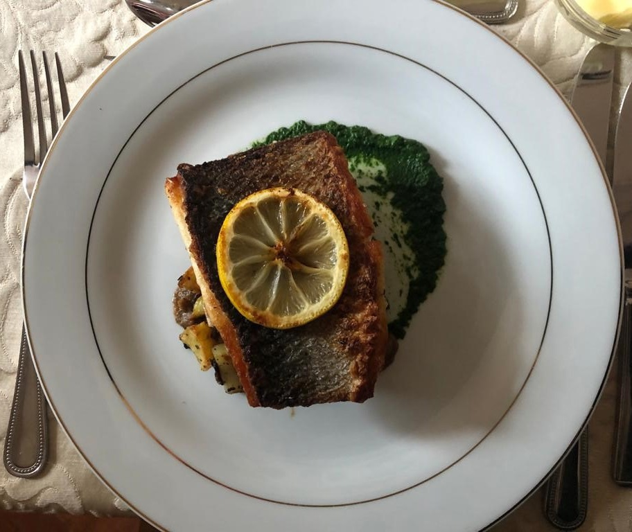 Fillet of Sea Bass