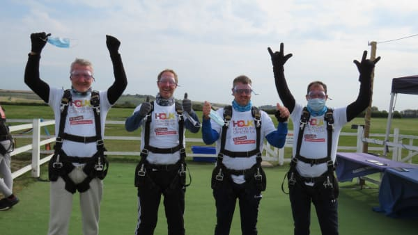 Skydivers Sept 2020