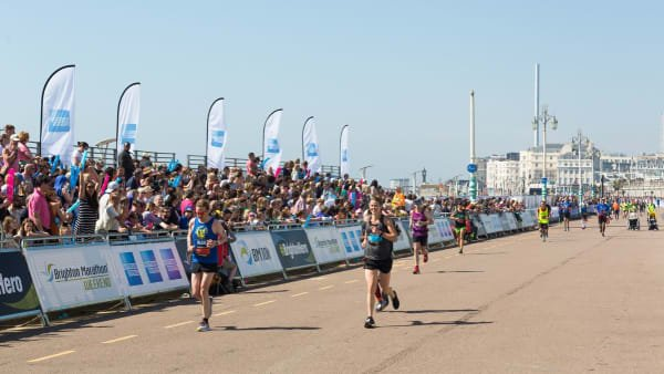 Brighton Marathon Weekend Seafront