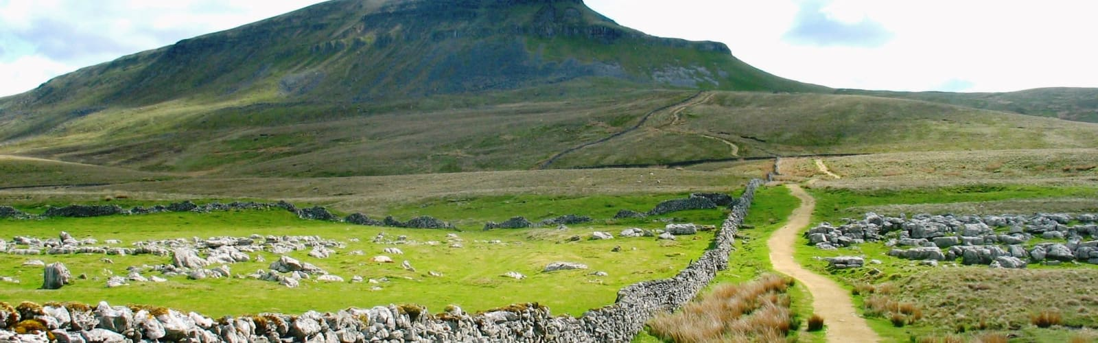 View of The Yorkshhire Dales